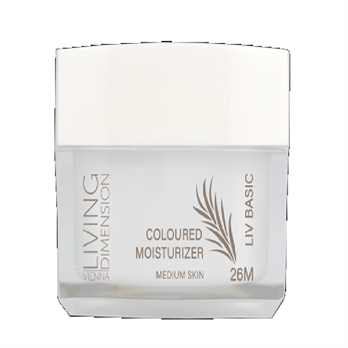 LD 26 Medium Coloured Moisturizing Cream