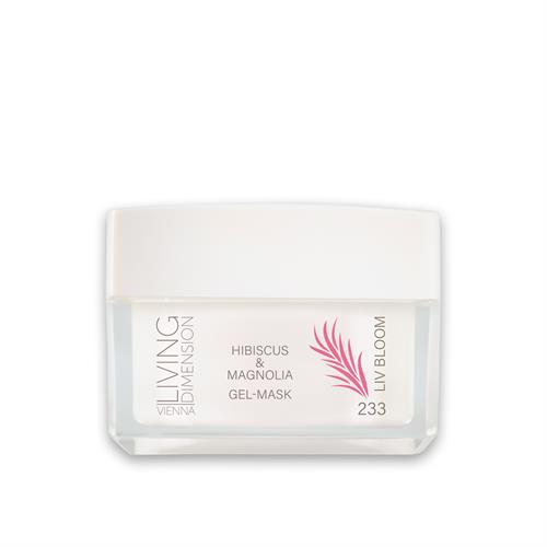 LIV 233 BLOOM hibiskus magnolia mask 50 ml